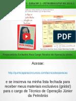 QUESTÃO 25 PROVA 5 PETROBRÁS 2014 COMENTADA | Química Para Concurso Técnico de Operação da Petrobrás
