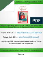 QUESTÃO 26 PROVA 5 PETROBRÁS 2014 COMENTADA | Química Para Concurso Técnico de Operação da Petrobrás