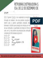 QUESTÃO 21 PROVA 4 PETROBRÁS 2014 COMENTADA | Química Para Concurso Técnico de Operação da Petrobrás