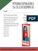 QUESTÃO 23 PROVA 4 PETROBRÁS 2014 COMENTADA | Química Para concurso Técnico de Operação da Petrobrás