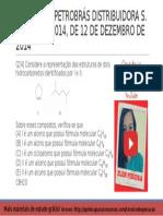 QUESTÃO 24 PROVA 4 PETROBRÁS 2014 COMENTADA | Química Para Concurso Técnico de Operação da Petrobrás