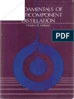 Fundamentals of Multicomponent Distillation (1981)