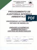 Procedimiento-Auditorias Internas Ambientales