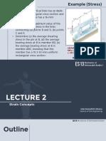 Lecture 2 - Strain Concepts