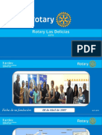 ¿Quienes son Rotary Las Delicias?