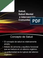 Salud Salud Mental Cominitaria