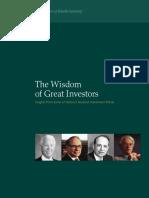 Great Investor Behavior