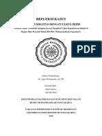 1. REFLEKSI KASUS (DM+ULKUS PEDIS) pada pasien laki-laki usia 56 tahun