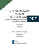 Violencia en Parejas Homosexuales
