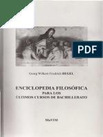 Hegel, G. W. F. - Enciclopedia filosofica para los ultimos cursos del bachillerato.pdf