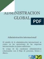 Administracion Global - Complemento de Lectura