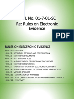 Jabal - Report on Rules on Electronic Evidence