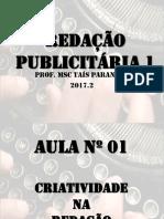 Redação Publicitária 1_Aula_01.ppt