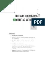 Diagnostico Marzo Ciencias 4basico 2014