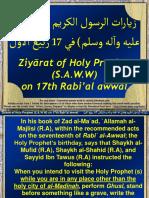 Ziyarat Holy Prophet Distance