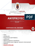 Informe 1 Ing de Proyectos Primer Corte