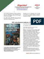 Dignidad Extra 1, MBM CNTE