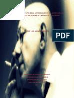 Tesis Autonomia Sobre Castoriadis y El Individuo y Los Social
