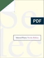 Boileau, Nicholas - Selected Poems