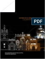 Plan de Clase de Historia de la Arquitectura III (Semestre 2017-II)