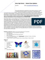 stained glass syllabus