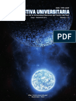 Revista Prospectiva Universitaria 2013 de la UNCP