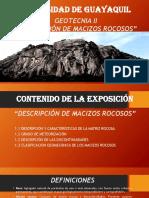 1.1 Descripción del Macizo Rocoso GEOTECNIA 2- 22.pptx