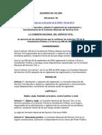 Acuerdo 001 de 2004