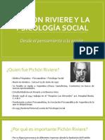 Pichón Riviere y La Psicología Social