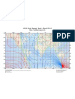 World Magnetic Field WMM 2010-2015