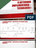 Segunda Actividad Complementaria – Tecnología I UMNG