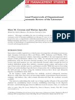 Artigo-2009 Crossan Apaydin a Multi-dimensional Framework