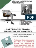 Evaluación Bajo La Perspectiva Psicoanalitica