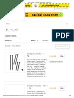 Acero y Metal - Precios de Materiales de Construccion