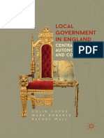 Colin Copus, Mark Roberts, Rachel Wall (Auth.)-Local Government in England _ Centralisation, Autonomy and Control -Palgrave Macmillan UK (2017)