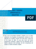 Analisis y Diseño Orientado a Objetos-SUBIR