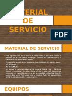 Material de Servicio