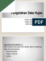 0.3. Pengolahan Data Hujan