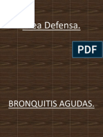 Area Defensa Bronquitis Agudas