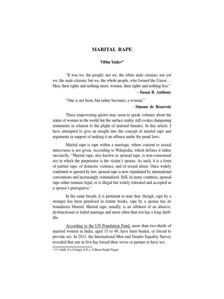 Rape Quotes Uk Jud Academy Mrape.pdf  Rape  Wife