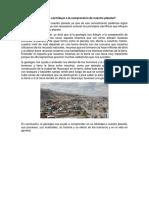 Ensayo 1 y 2 ensayo de geologia