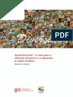Agrobiodiversidad Soberania Alimentaria Cambio Climatico