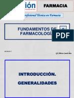 Fundamentos de Farmacología I. IESTP DANIEL A. CARRIÓN