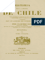 Claudio Gay. Historia Fisica y Politica de Chile Tomo 8