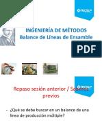 Balance de Líneas de Ensamble (2)