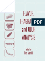 Flavor,Fragrance,And Odor Analysis