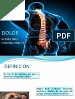 Presentación dolor medicina
