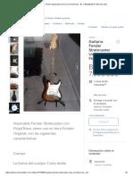 (10) Guitarra Fender Stratocaster Unica Con Floyd Rose - Bs. 7.500
