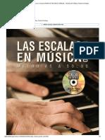 Las Escalas en Música en El Piano (PIANO & TECLADOS, Métodos, Técnicas & Práctica, Fabian Domingo)