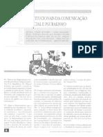 Daniel Sarmento - Valores Constitucionais Da Comunicação Social e Pluralismo